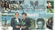 Tennis Autographs And Fdcand039s Althea Gibson Variation Listing Select Using Menu