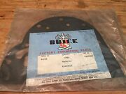 1948-1954 Buick Nos Gm Dyna-flow Transmission Front Cover Plate Gasket 1343202