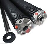 Garage Door Torsion Springs Pair .243 X 2 5/8 Id X Select Length - With Options