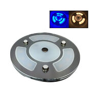 Pactrade Marine Boat Rv 5 White Blue Led Ceiling Courtesy Light Touch Switch