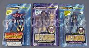 Mcfarlane Toys Youngblood Sentinel And Wetworks Mother-one And Frankenstein Nip '95