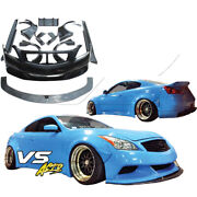 Vsaero Frp Lbpe Wide Body Kit 2dr Coupe For Infiniti G37 Coupe 08-15