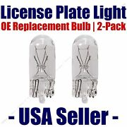 License Plate Bulb 2pk Oe Replacement Fits - Listed Cadillac Vehicles - 168