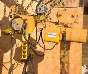 Acco Wright-way 1-1/2 Ton Electric Chain Hoist Tractor 56097 23-05-2648 11/2 Ton