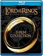 The Lord Of The Rings Theatrical Versions 3-film Collection [new Blu-ray] 3