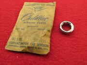 Nos 58 59 60 61 62 Vette Cadillac Chrome Console Or Lock Compartment Bezel Nut