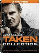 Taken 3-movie Collection [new Dvd] 3 Pack