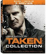 Taken 3-movie Collection [new Blu-ray] 3 Pack