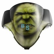 Airbrushed Green Hulk Windscreen Windshield For Gsxr Fairing Motorcycle