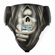 Airbrushed Wewantyou Skull Windscreen Windshield For Fairing Motorcycle