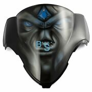 Airbrushed Blue Eyes Custom Windscreen Windshield For Fairing Motorcycle
