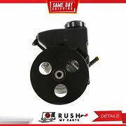Dnj Psp1099 New Power Steering Pump W/pulley And Reser. For 96-04 Pontiac 3.1l Ohv