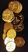 2 1 Gram Bar Usa Bullion 1g 22k Placer Gold Rounds From Mine Y Lot 22 Anarchy