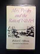 Mrs. Frisby And The Rats Of Nimh Robert C. Oand039brien 1st Ed 1971 Illustrated