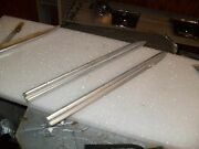 1963 Front Fender Spears With Back Up And Studsoriginal Restorable