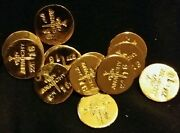 2 1 Gram Bar Usa Bullion 1g 22k Placer Gold Rounds From Mine Y Lot 120 Anarchy