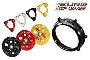 Cnc Racing Clutch Cover+spring Retainer+pressure Plate B For Ducati Panigale 955