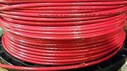 2500' Thhn 10 Awg Gauge Red Nylon Stranded Copper Building Wire