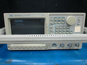 Sony Tektronix Model Dg2020a Data Generator 200 Mbps With Opt-02
