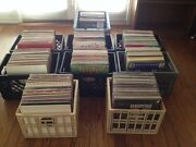 Vinyl Records. Dj Record Collection. Over 700 Records.