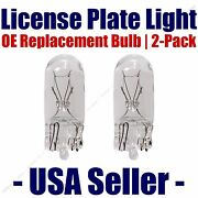 License Plate Bulb 2pk Oe Replacement Fits - Listed Cadillac Vehicles - 194
