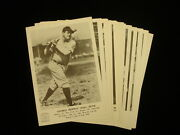 Group Of 22 1960and039s Baseball Hall Of Fame Picture Pack Photographs