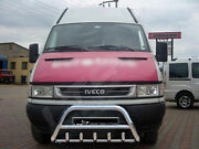 Iveco Daily Mk3 Chrome Axle Nudge A-bar Stainless Steel Bull Bar 1997-2007
