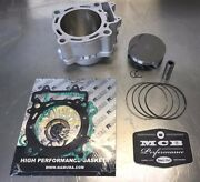 2002-2003 Honda Crf450r Wossner Forged Piston Top End Kit Replated Cylinder Meb