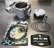 2002-03 Honda Crf450r Wossner Top End Piston Rebuild Kit Replated Cylinder Meb