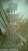 Crystal Cupcake Or Cake Stand Tower 2 3 Or 4 Tiers Crystal Chandelier Style