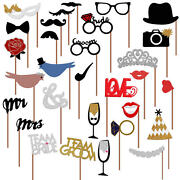 Wedding Photo Booth Props Wedding Party Decorations No Diy Required Usa