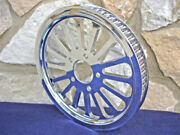 65 Tooth 1 1/2 Straight Super Spoke Rear Pulley For Harley And Customs