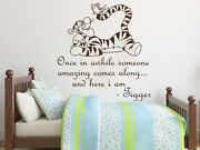 Wall Decals Quotes Winnie The Pooh Tigger Nursery Vinyl Sticker Kids Decal Ns814