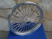 21x3.5 Dna 52 Diamond Fat Spoke Front 08-up Harley Street Glide Touring Bagger
