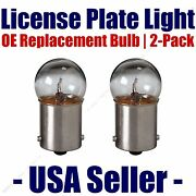 License Plate Bulb 2pk Oe Replacement Fits - Listed Cadillac Vehicles - 67