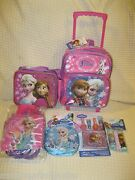 Frozen Elsa Anna Rolling Backpacklunch Bagparty Bagsjump Ropepuzzlelip Balm