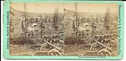 C R Savage Stereoview – View Of Truckee California From The South 1860s