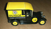 Matchbox Models Of Yesteryear Y5- 1927 Talbot Dunlop Tyres And Accessories - 1984