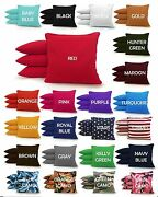 8 All Weather Regulation Cornhole Bags - 23 Colors -high Quality - Resin Filled