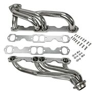 Stainless Steel Headers Truck W/ Gaskets Fits Chevy Gmc 88-97 5.0l 305 350 V8