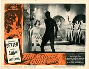 Fire Maidens Of Outer Space 8 Lobby Card Set 1956 Each Card Has 2 Staple Holes @