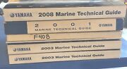 Yamaha Service Manuals Lot Of 6 See Titles In Description