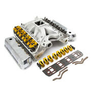 Ford 351w Windsor Hyd Roller 190cc Cylinder Head Top End Engine Combo Kit