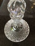 Waterford Lismore Pattern Ships Decanter Crystal Brilliant Cut W/ Stopper 10 H