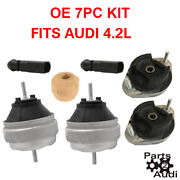 Engine Mount Trans Mount Set Left And Right With Bypass Connectors Audi Rs4 S4 4.2