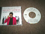 Huey Lewis - Heart Of Rock And Roll Best Of .. Mega Rare Mispressed Cd
