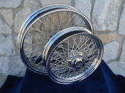21x3.5 And 16x3.5 80 Spoke Kcint Dna Wheels 2000-06 Harley Heritage Fatboy Deluxe