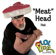 Summer Bbq Memorial Day Hats - Grill Masterand039s Meat Head Foam Chef Costume Hat