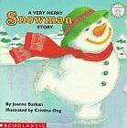A Very Merry Snowman Story Sparkle-and-glow Books