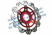 Fit Honda Cb 1000 R9/ra/rb/rc/rd/re/r 0915 Ebc Vr Brake Disc Red Hub Front Left